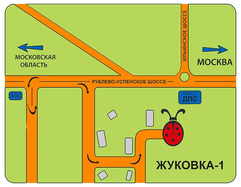 Из Москвы: следуйте по